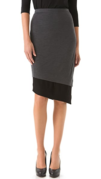Donna Karan New York Two Tone Skirt