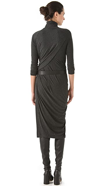 Donna Karan New York Twist Drape Dress