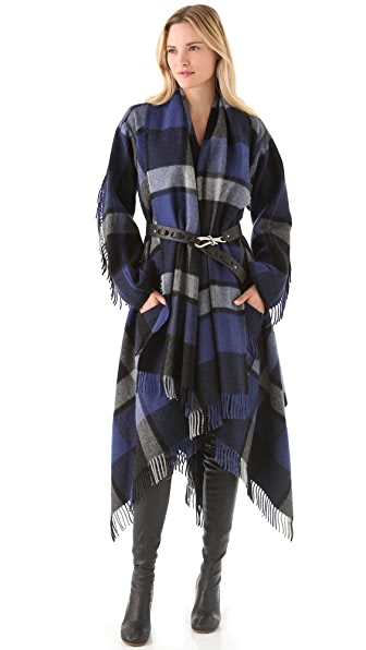 Donna Karan New York Blanket Coat