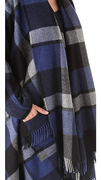 Donna Karan New York Blanket Coat