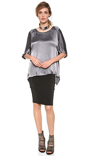 Donna Karan New York Cocoon Blouse