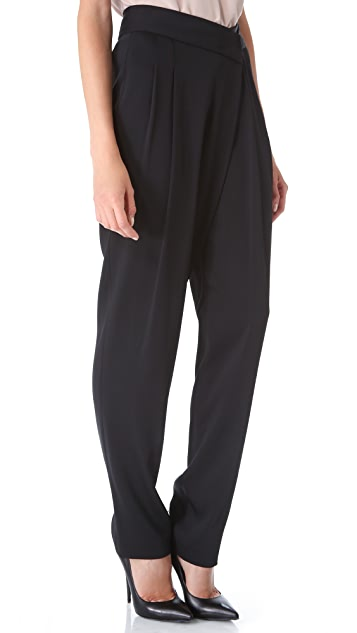 Donna Karan New York Pleated Envelope Pants