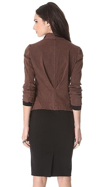 Donna Karan New York Jacket with Asymmetrical Zip