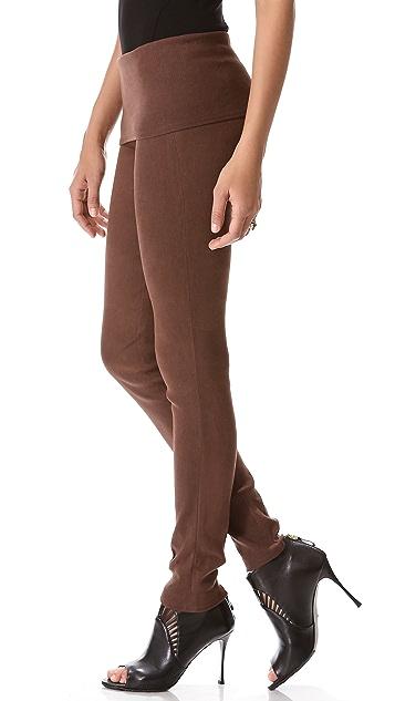 Donna Karan New York Fold Over Tube Pants