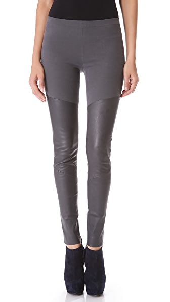Donna Karan New York Leather Pants