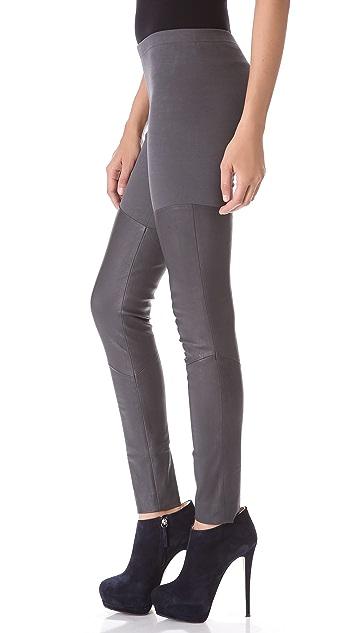 Donna Karan New York Leather Pants
