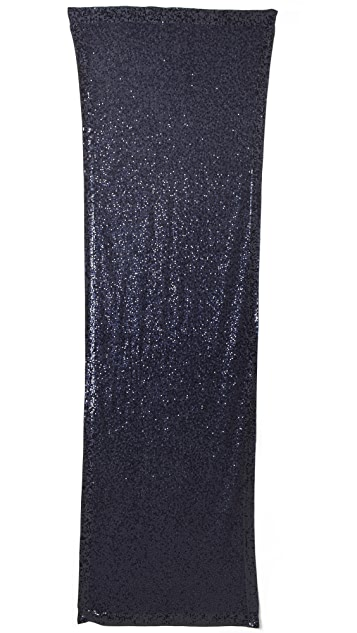 Donna Karan New York Sequined Cashmere Scarf