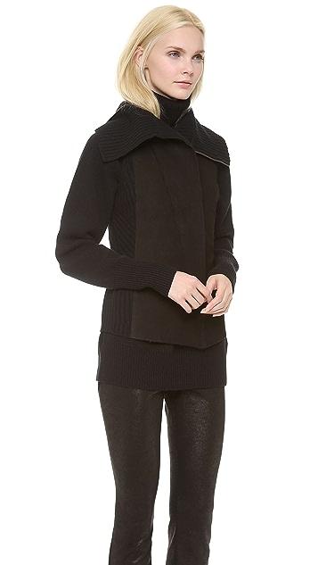 Donna Karan New York Reversible Zip Front Vest