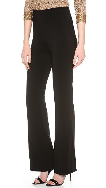 Donna Karan New York Pull On Fluted Leg Pants