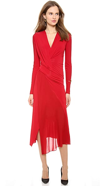 Donna Karan New York Plunge V Twist Dress