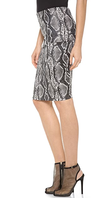 Donna Karan New York Fold Over Tube Skirt