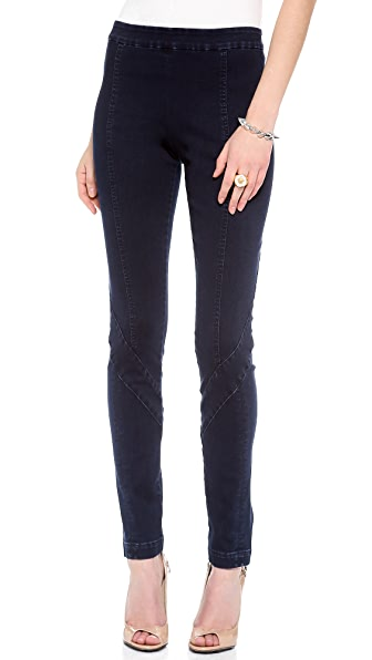 Donna Karan New York Second Skin Seamed Jeans