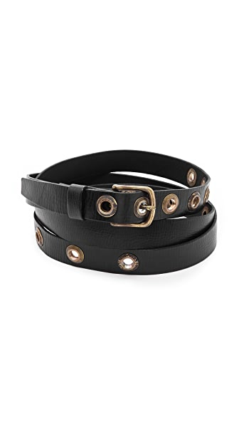 Donna Karan New York Double Wrap Belt