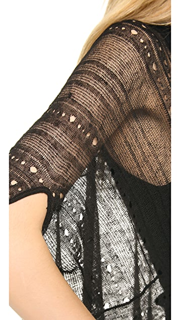 Donna Karan New York Draped Cardigan