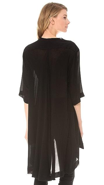 Donna Karan New York Three Quarter Sleeve Tunic