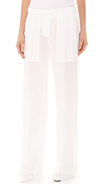 Donna Karan New York Full Leg Easy Pants