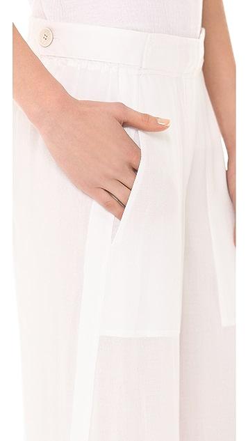 Donna Karan New York Full Leg Easy Pants