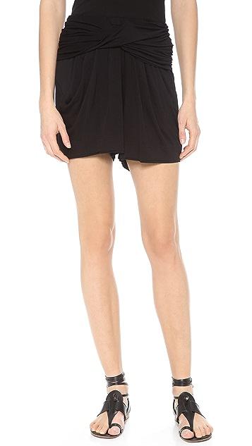 Donna Karan New York Draped Shorts