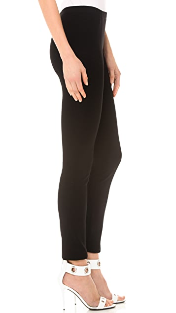 Donna Karan New York Pull On Seamed Leggings