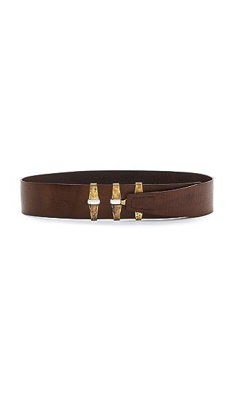 Donna Karan New York Leather Belt