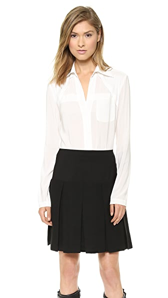 Donna Karan New York Long Sleeve Blouse