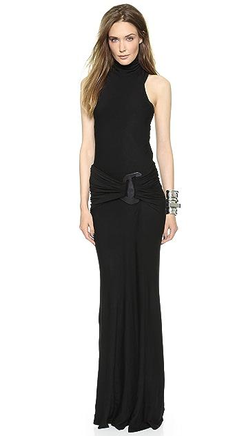 Donna Karan New York Sleeveless Turtleneck Dress