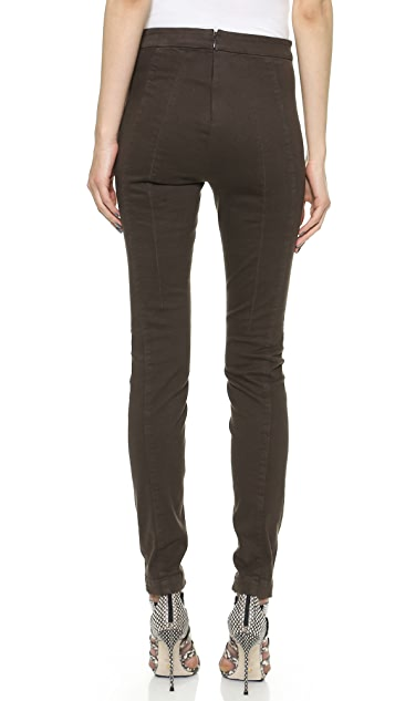 Donna Karan New York Seamed Skinny Pants