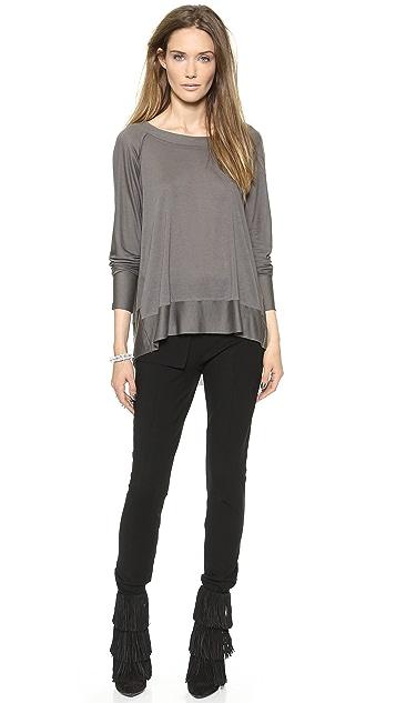 Donna Karan New York Ankle Zip Slim Pants