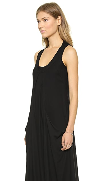 Donna Karan New York Sleeveless Dress with Draped Pocket