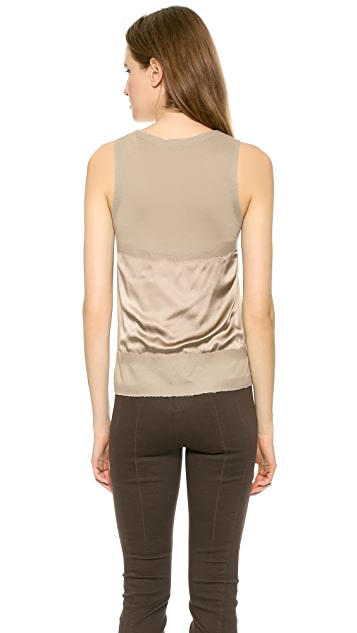 Donna Karan New York Flocked Tank