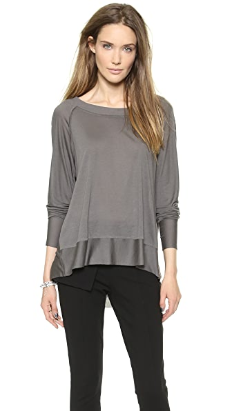 Donna Karan New York Long Sleeve Easy Top