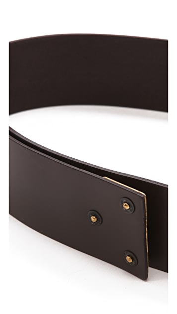 Donna Karan New York Belt with Hook Closure