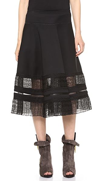 Donna Karan New York Suspension Circle Skirt