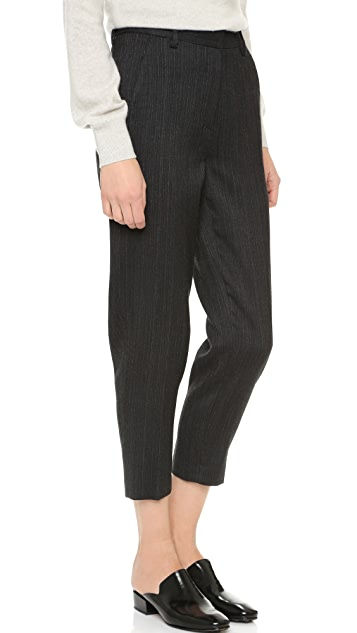 Donna Karan New York Menswear Creased Trousers