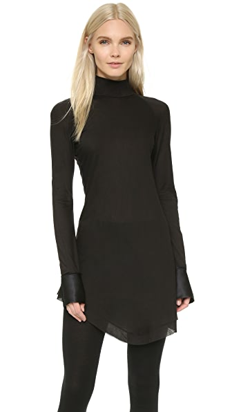 Donna Karan New York Long Sleeve Turtleneck Tunic