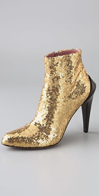 Derek Lam Regine Sequin Booties