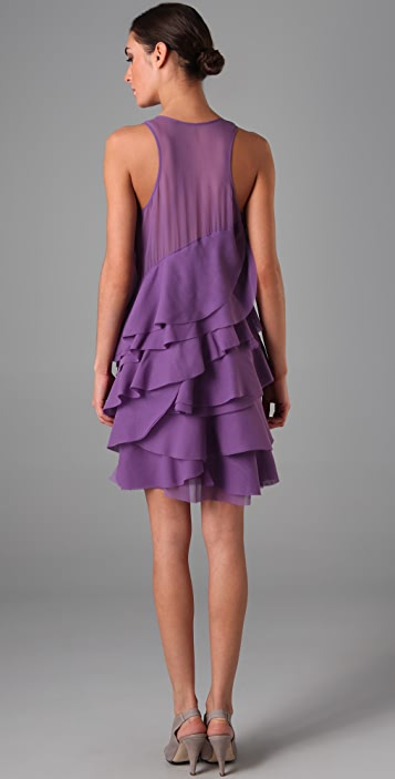 Derek Lam Ruffle Dress