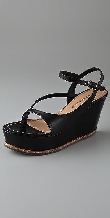 Derek Lam Misa Crisscross Platform Sandals