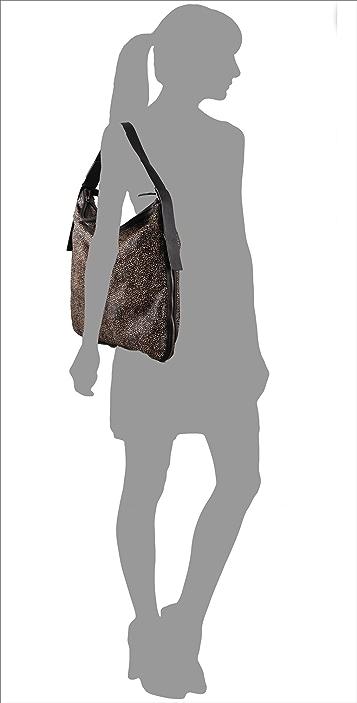 Derek Lam Tatum Print Haircalf Shoulder Bag