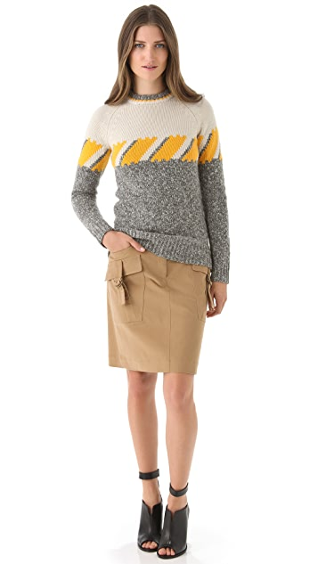 Derek Lam Utility Skirt