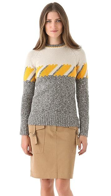 Derek Lam Long Sleeve Ski Sweater