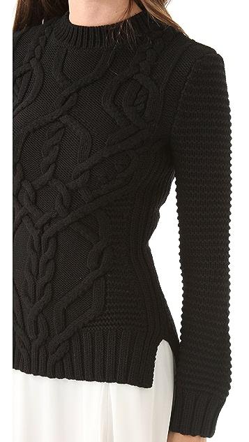 Derek Lam Cable Knit Sweater