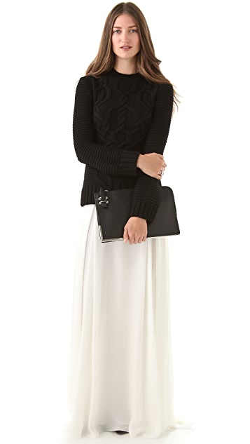 Derek Lam Georgette Maxi Skirt