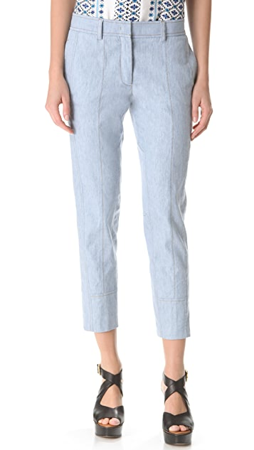 Derek Lam Cropped Denim Trousers