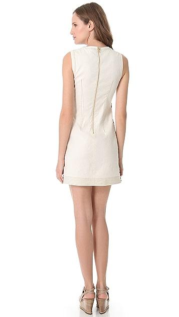 Derek Lam Sleeveless Mosaic Dress