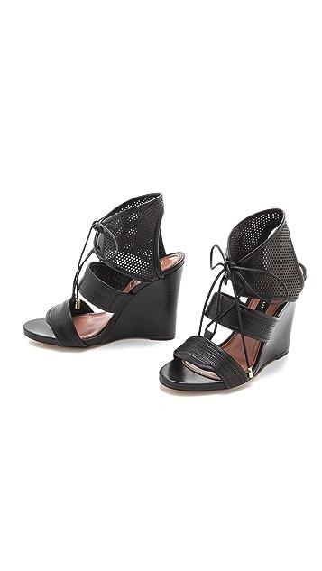 Derek Lam Brooklynn Wedged Sandals