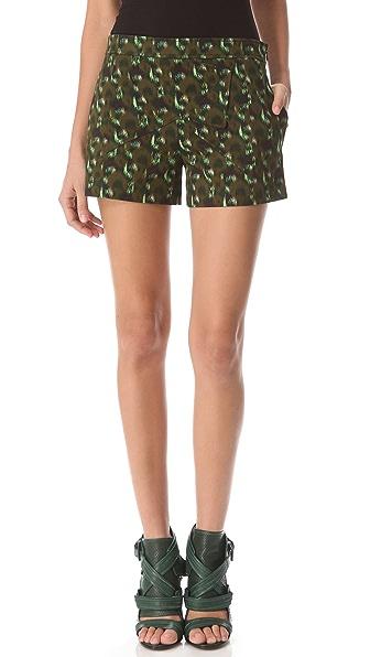 Derek Lam Graphic Seam Shorts