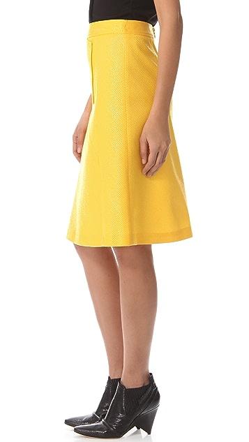 Derek Lam Graphic Seam Skirt