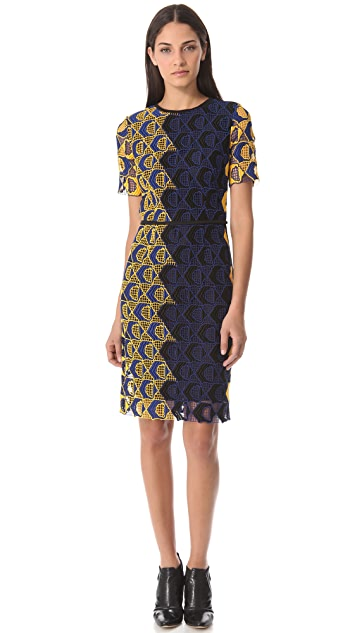 Derek Lam Short Sleeve Dress