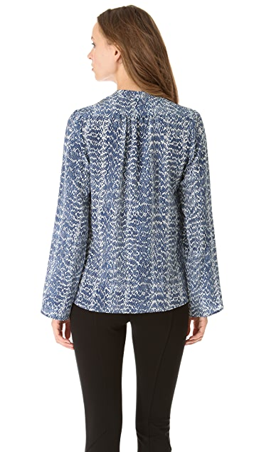 Derek Lam Classic Long Sleeve Blouse